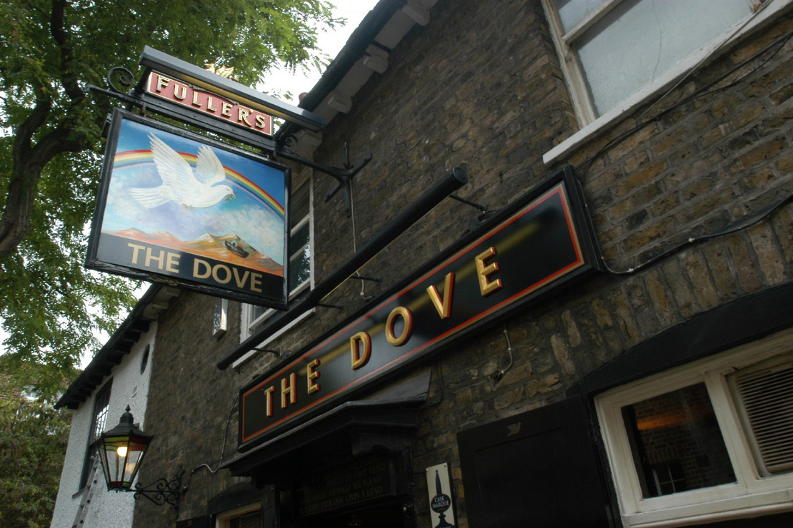 The dove take a 360 tour of the dove pub and restaurant for 7 hammersmith terrace